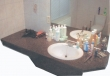 Décoration salle de bain en pierre bleue naturelle